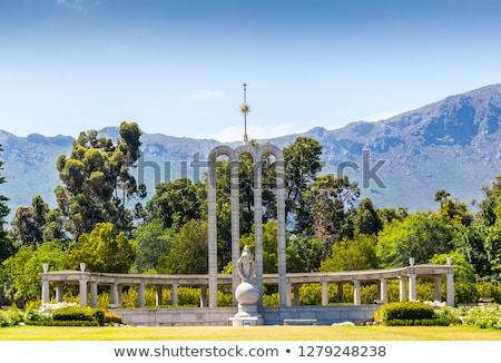 The Huguenot Monument Stock photo © Forgiss