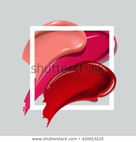 perfect female lips collection stock photo © moses