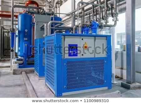 Air compressor Stock photo © claudiodivizia