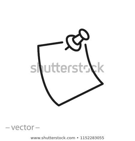 Vector icon tack Stock photo © zzve