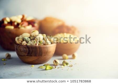 assortment of nuts and nutcracker Stock photo © M-studio