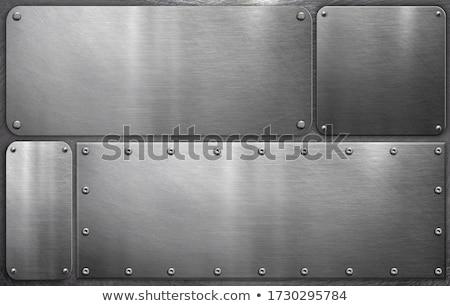 metal rivets. Stock photo © pxhidalgo