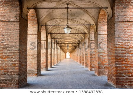 Ancient Colonnade Stock photo © cosma