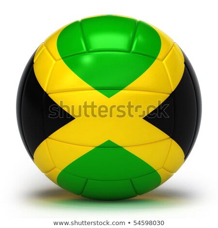 Jamaican Volleyball Team stock photo © bosphorus