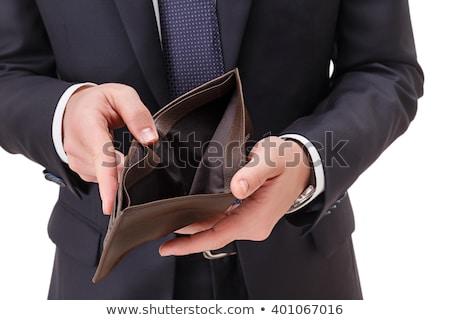 chômeurs · affaires · désespérée · salissant · faillite · crise · financière - photo stock © miszaqq