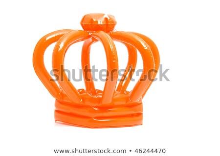 dutch orange hat stock photo © ivonnewierink
