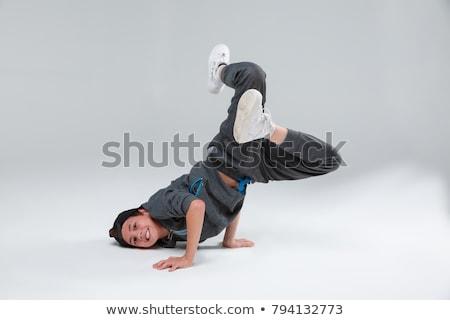 dançarina · ilustração · sorrir · sensual · moda · discoteca - foto stock © adrenalina
