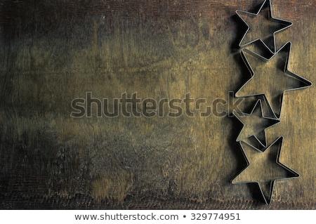 masa · örtüsü · tekstil · ahşap · doku · defter - stok fotoğraf © zerbor