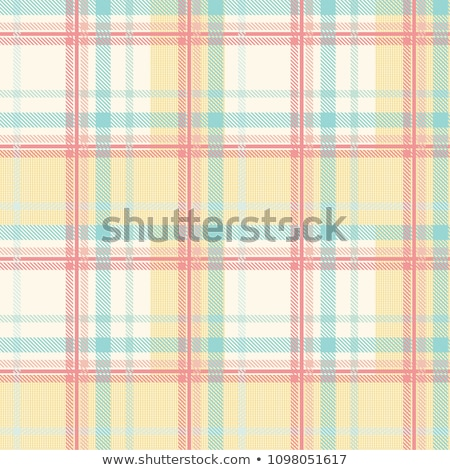 Fabric with a checked pattern in blue tones Stock photo © Zerbor