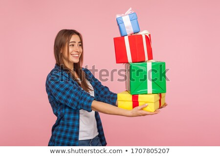 Stock photo: Taking present