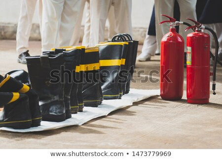 Stock photo: old firefightning objects