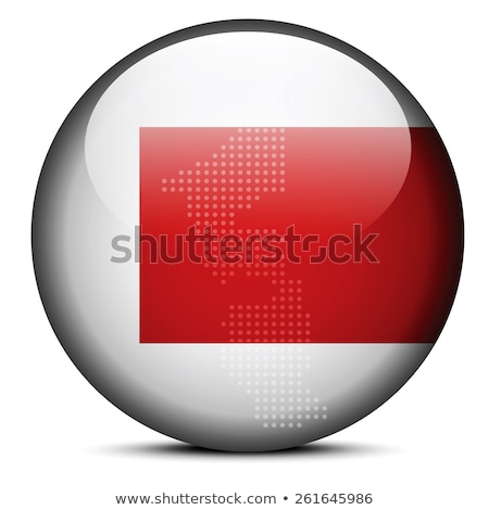 Map with Dot Pattern on flag button of United Arab Emirates, Fuj Stock photo © Istanbul2009