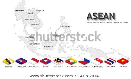 meridionale · Asia · mondo · dito · comunità - foto d'archivio © hin255