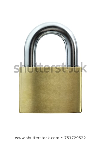 lock on a white background Stock photo © ozaiachin