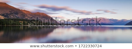Summer landscape with lake Stock photo © CaptureLight
