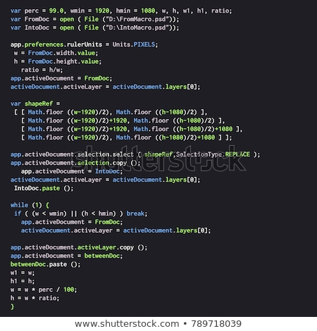 Ява · сценария · интернет · макроса · выстрел · экране · компьютера - Сток-фото © georgejmclittle