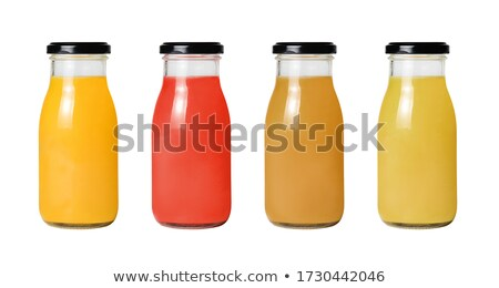 rij · zuiver · glas · collectie · dranken · reflectie - stockfoto © sebikus