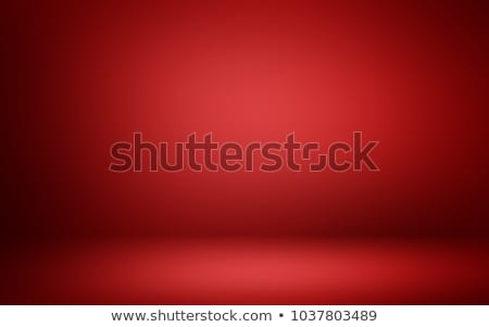 Stock photo: blurred red background