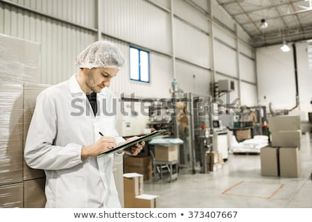 observação · armazém · homem · trabalhar · medicina · indústria - foto stock © zurijeta