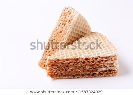 Sweet waffle cakes Stock photo © simply