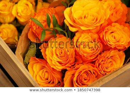 花束 オレンジ 花 パーフェクト 日 ストックフォト © Klinker