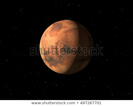 Planet Mars done with NASA textures Stock photo © magann