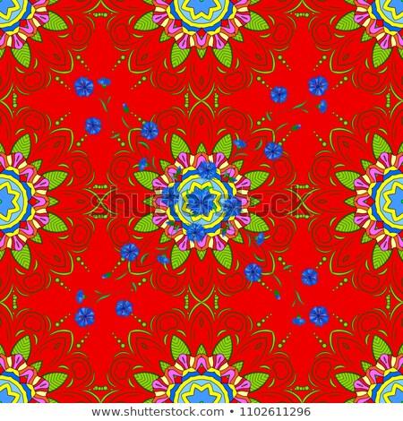 ondulado · padrão · vermelho · neutro · moderno - foto stock © almagami