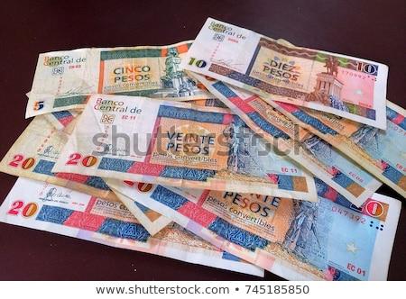 кубинский валюта монетами бизнеса портрет Сток-фото © Hofmeester