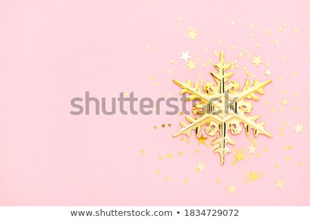 Sparkling Snowflakes Stock photo © blackmoon979