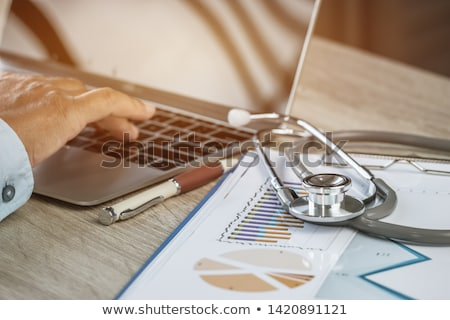 Medical Writing Stock photo © Lightsource