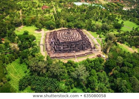 Java Indonesia viaje amanecer arquitectura Buda Foto stock © njaj