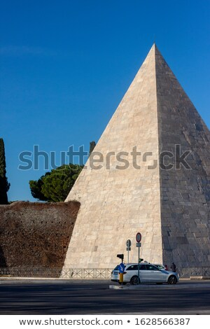Piramide di Caio Cestio or Cestia in Rome. Lazio, Italy. Stock photo © Photooiasson