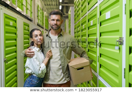 Business couple in locker room Stock photo © IS2