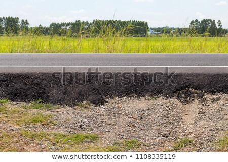 Paved road in rural landscape Stock photo © IS2