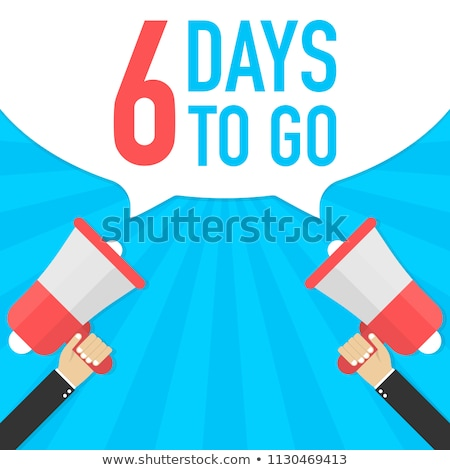 modern number of days left tags Stock photo © SArts