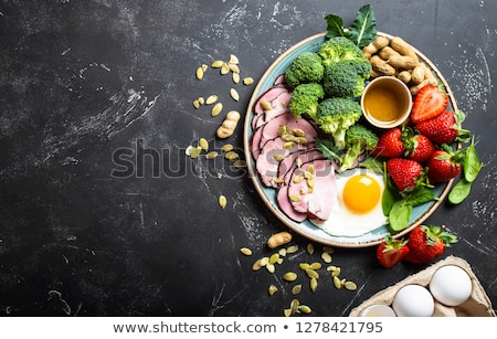 Keto Ketogenic Food Text Stock photo © Lightsource