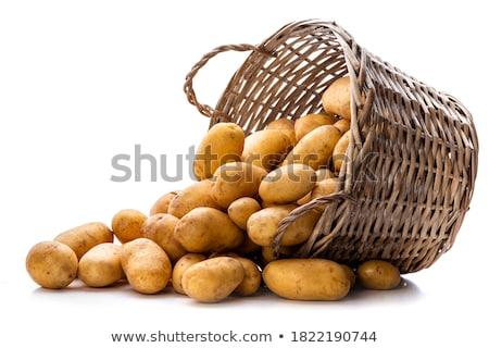 plantaardige · mand · voedsel · vol - stockfoto © colematt