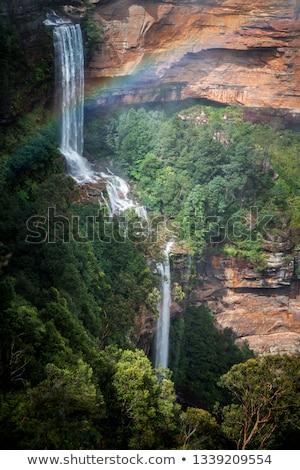Katoomba Falls Rainbow Stock photo © lovleah