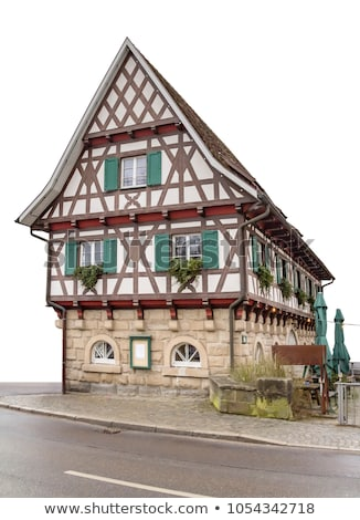 Meridional Alemania impresión ciudad casa construcción Foto stock © prill