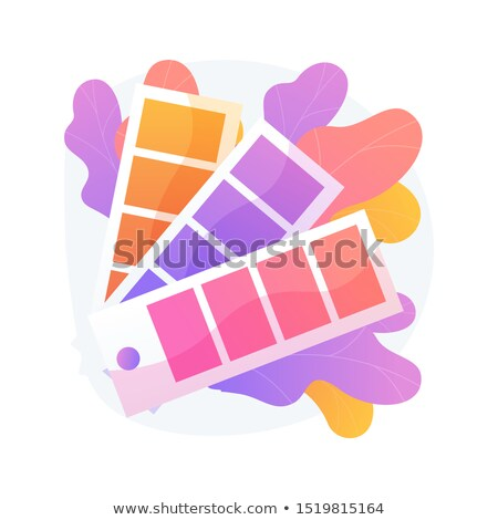 colors swatches palette vector concept metaphor stock photo © rastudio