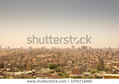 Cairo aerial View Stock photo © Givaga