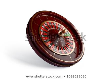 Ilustración ruleta juego feliz funny jugar Foto stock © adrenalina