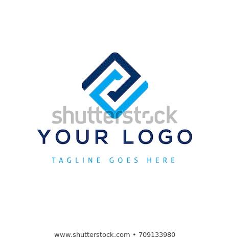 negocios · empresarial · logo · carta · cuadrados · círculo - foto stock © robuart
