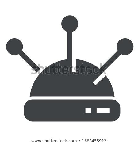 Aguja almohada icono vector ilustración Foto stock © pikepicture