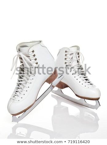 Ice skating shoe stock photo © fahrner