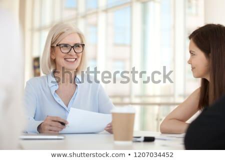 homem · maduro · óculos · senior · caucasiano · homem - foto stock © pressmaster
