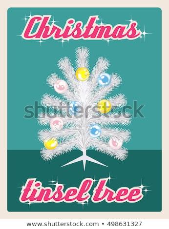зеленый · Рождества · прибыль · на · акцию · вектора · файла · счастливым - Сток-фото © beholdereye