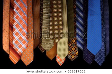 nyak · válogatás · munka · absztrakt · üzletember · kék - stock fotó © vividrange