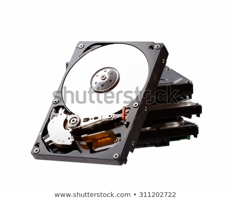 Stack of hard drive Stock photo © gewoldi