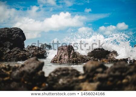 Waves Hitting the Rocks Stock photo © franky242